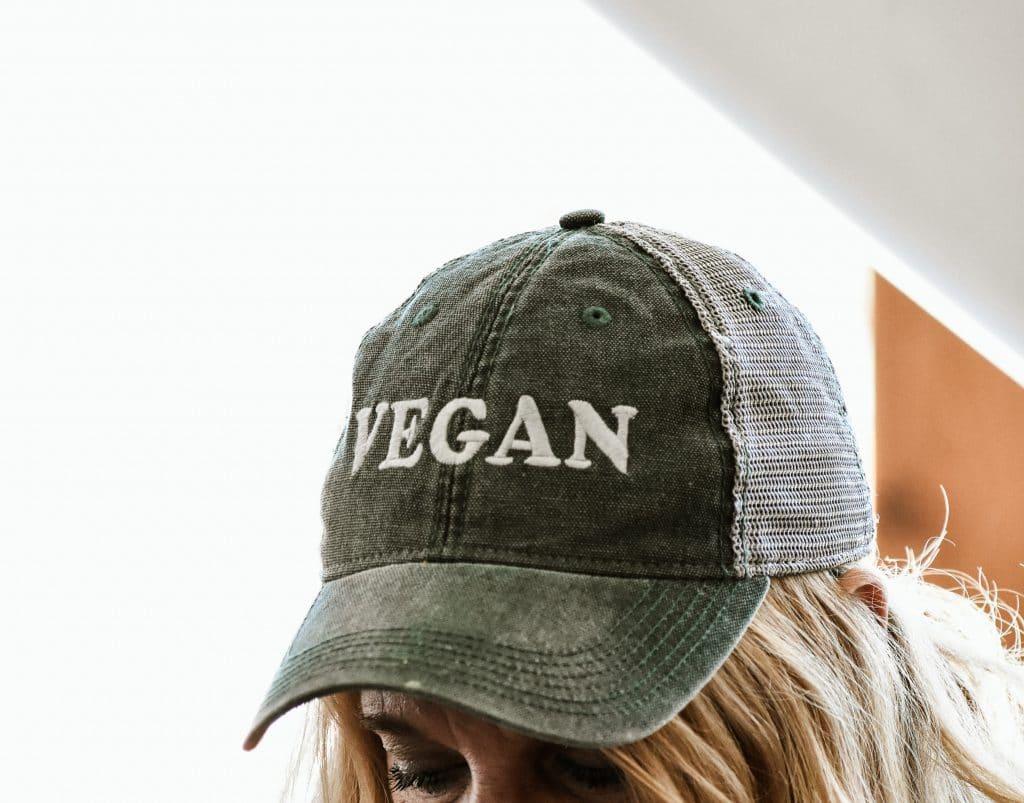 Vegan cap.
